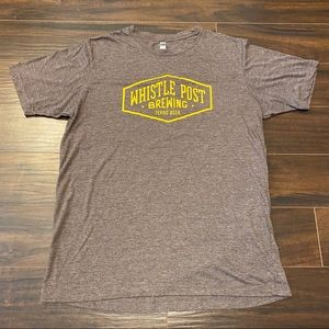 Next Level Apparel Whistle Post Beer T-Shirt XL